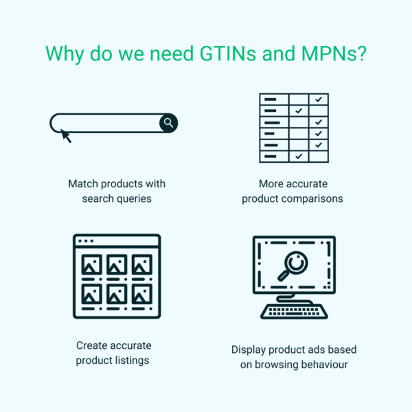 Why we need GTINs and MPNs