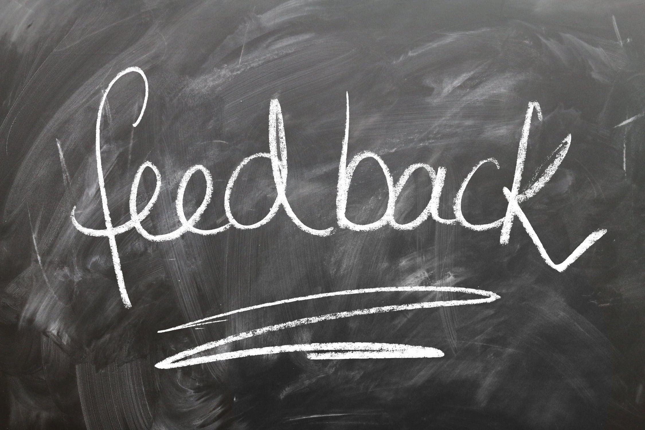 Feedback from review signals