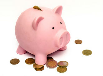 business-money-pink-coins-preview-image-1