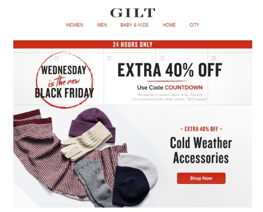 Gilt alternative date to Black Friday and Cyber Monday.jpg