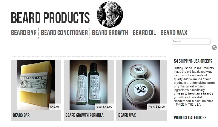 BeardProducts Content