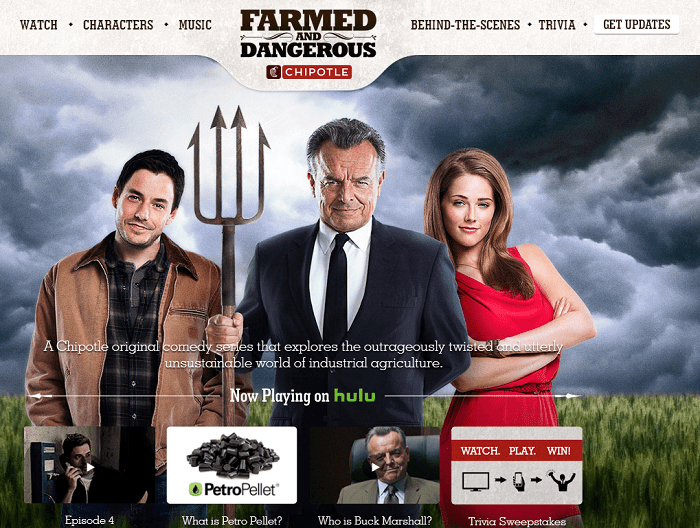 Chipotle's TV Series Farmed and Dangerous