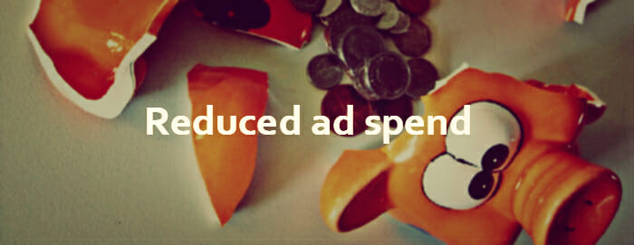Ecommerce SEO and content reduces ad spend