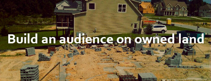 Ecommerce SEO builds your audience on owned land