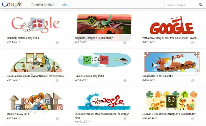 SEO still works, not all of Google's visits are for doodles