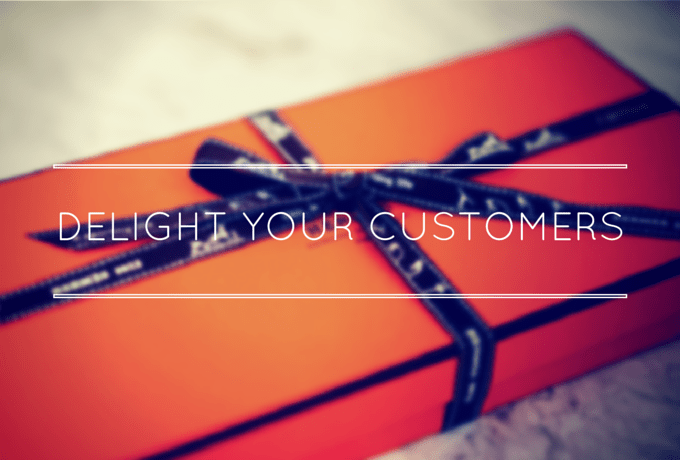 Your customer experience should delight your audience