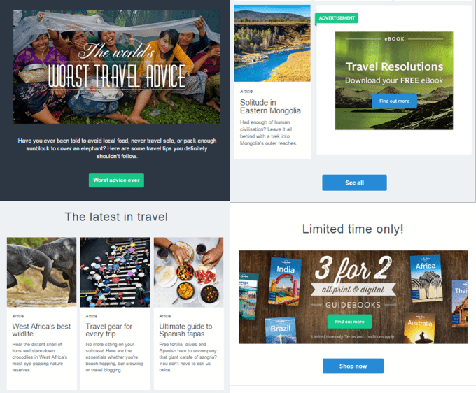 Lonely Planet content value add