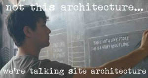 Not this site architecture