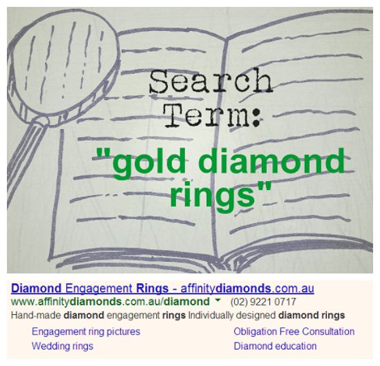 Effective Adwords Ad Example Engagement Rings