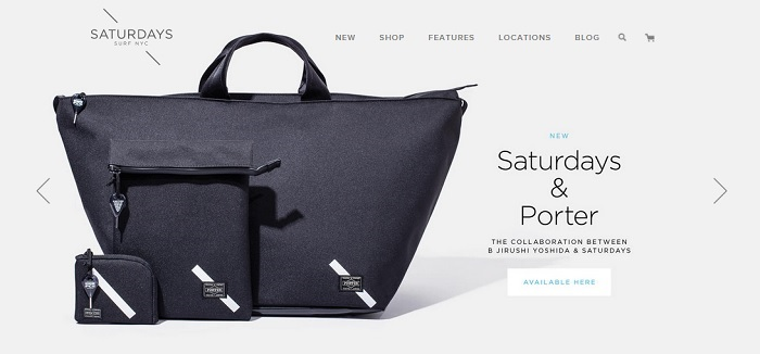 Saturdays and Net-A-Porter partnerships