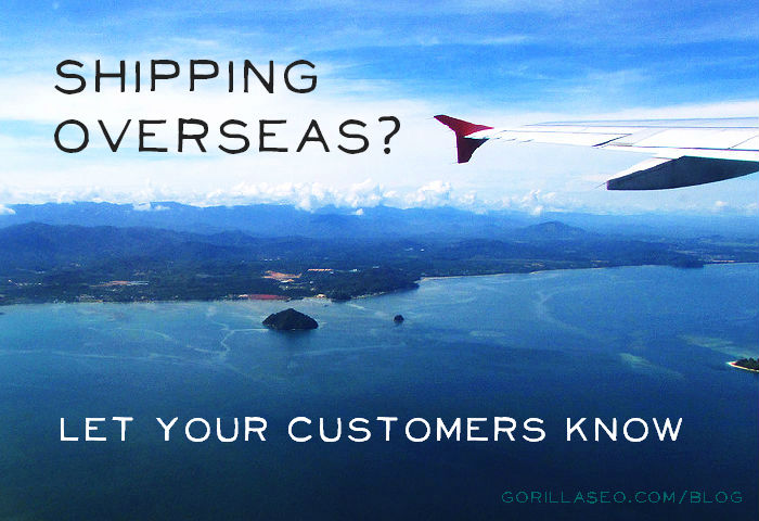 Free Shipping? Make it clear in your ad