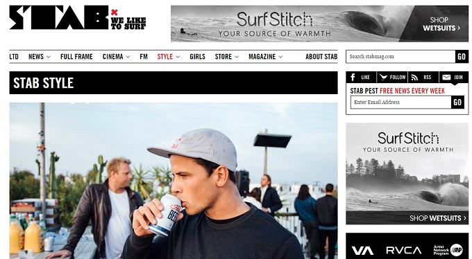 SurfSticth Stab magazine content marketing buy