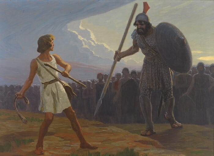 the David and Goliath of online marketing