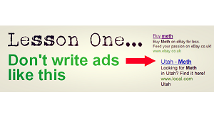 Don't write Google Ads like this