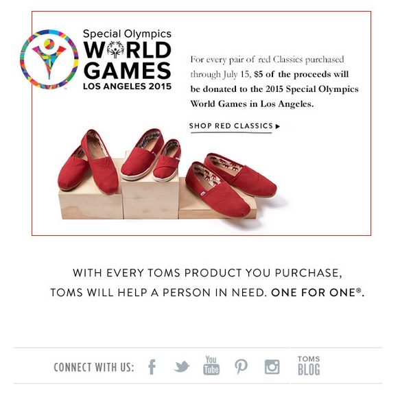 Toms Social Business Email