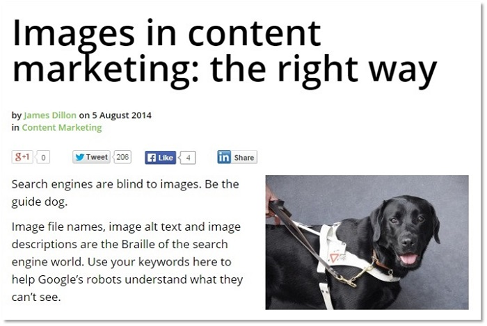 How to use images for ecommerce content marketing