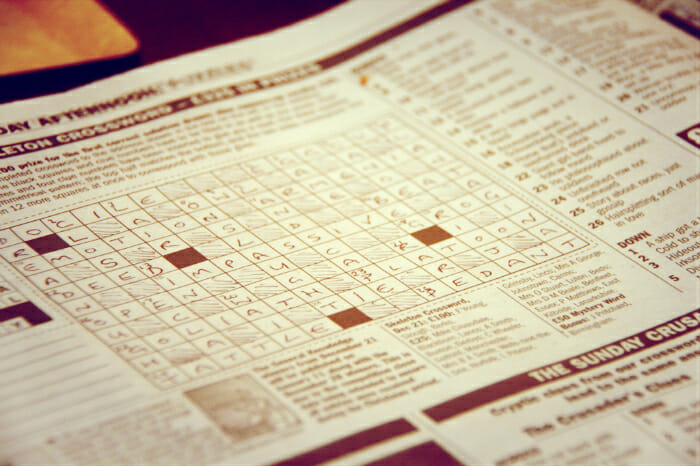 why SEO is like cryptic crosswords