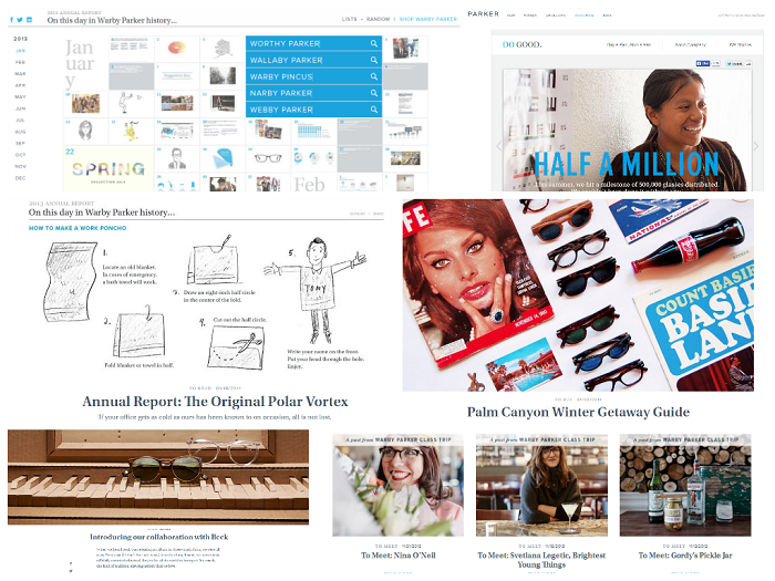 Niche Ecommerce Blog Examples Warby Parker