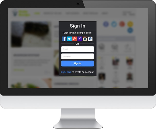 Gigya Product Social Login